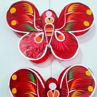 Lồng đèn Trung thu giấy kiếng hình con bướm – Size to