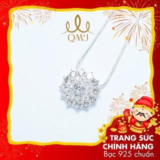 Dây chuyền bạc QMJ Hải liên hoa sang chảnh nạm đá sáng, thiết kế tinh tế - Q180 thumbnail