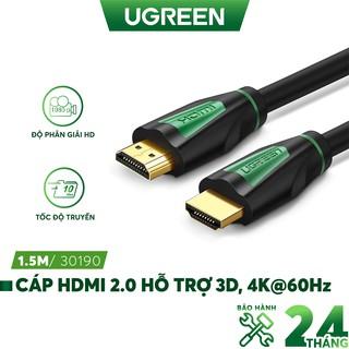 Dây HDMI 2.0 thuần đồng khử Oxy hóa UGREEN HD116 thumbnail