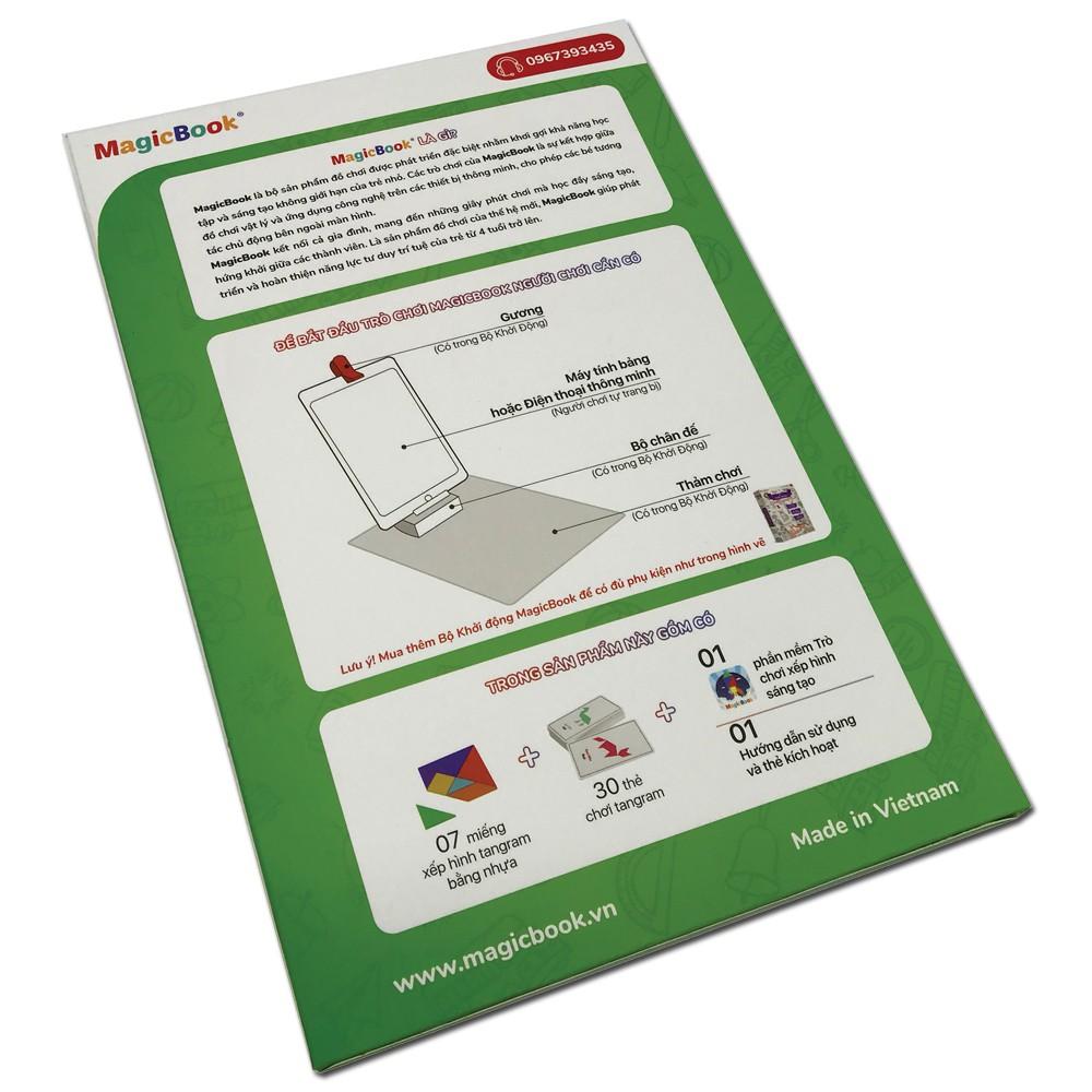 Magicbook - Combo Hộp Phụ Kiện và Bộ Xếp Hình Sáng Tạo