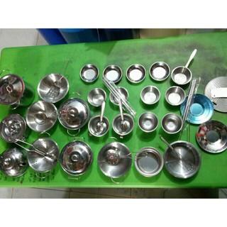 Đồ chơi nấu ăn inox (40 chi tiết)