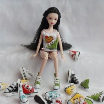 Giày thể thao 3.5 cm cho Búp bê Xinyi, Barbie, Kexin, Bjd 1/8, Blythe, Azone, Licca, Ani mini...