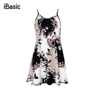 Đầm ngủ họa tiết màu ngẫu nhiên iBasic 7916-1 thumbnail