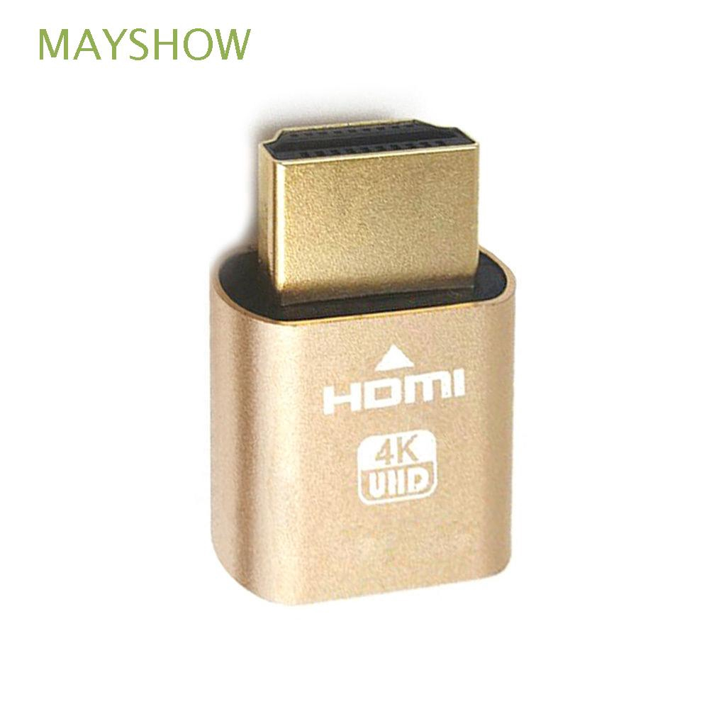 MAYSHOW Mini Adapter Lock Plate Screen 1920*1080 VGA Emulator