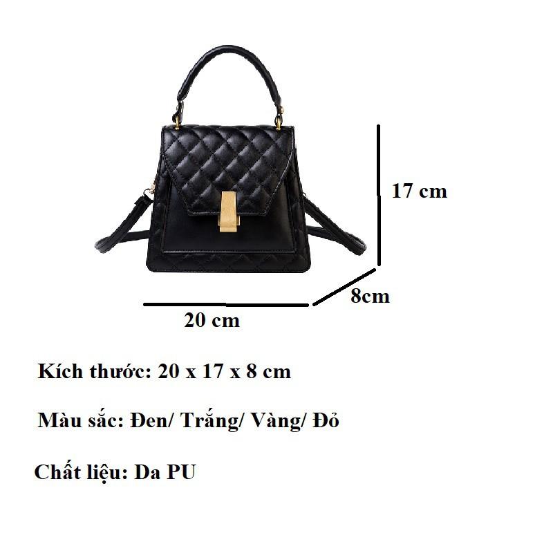 Túi đeo chéo nữ dễ thương da mềm nhỏ giá rẻ đi chơi cá tính HY133