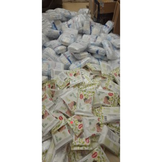Combo 100 gói giấy ướt Huggies 10 tờ/gói (hàng km)