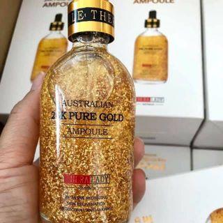 [Hàng Úc] Serum tinh chất vàng 24K Pure Gold Ampoule 100ml thumbnail
