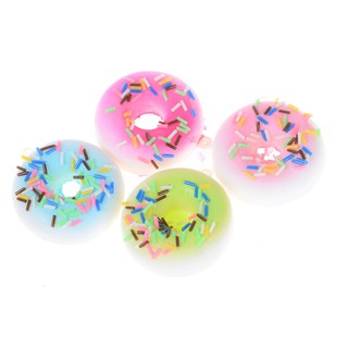 SUN11❤❤ 5cm Cute Soft Donut Slow rising Bread Antistress Scented Charms