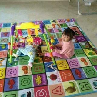 Thảm lót sàn maboshi 1m8x2m(giao màu ngẫu nhiên)