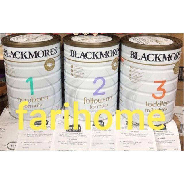 Sỉ sữa Blackmore 900g date 2022