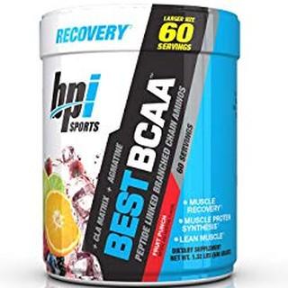 Phục hồi cơ bắp, giảm mỡ Best BCAA 60 lần dùng vị Watermelon ice, hàng chính hãng