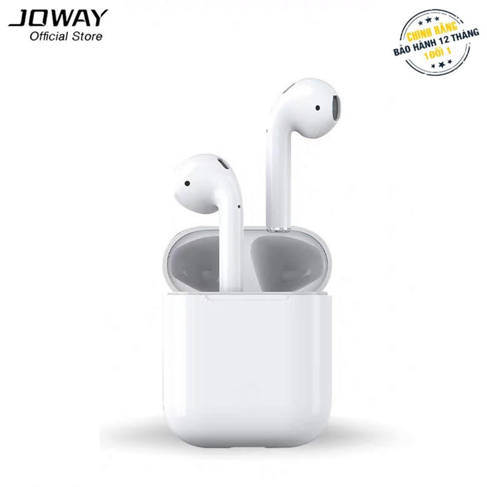 Tai Nghe Bluetooth Joway H103 AirPro, TWS Bluetooth 5.0, cảm ứng hồng ngoại (Trắng) - Hãng phân phối chính thức
