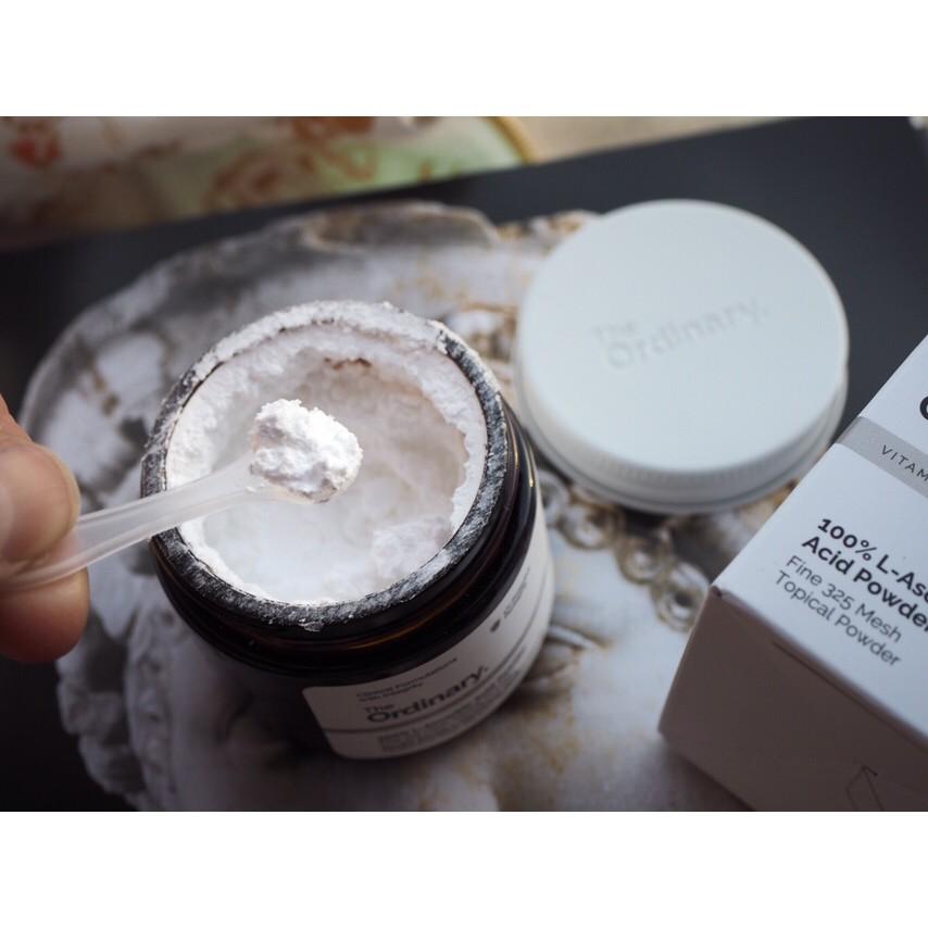 Bột vitamin C the ordinary - 100% L-ascorbic Acid Powder - 2403560 , 1080831207 , 322_1080831207 , 325000 , Bot-vitamin-C-the-ordinary-100Phan-Tram-L-ascorbic-Acid-Powder-322_1080831207 , shopee.vn , Bột vitamin C the ordinary - 100% L-ascorbic Acid Powder