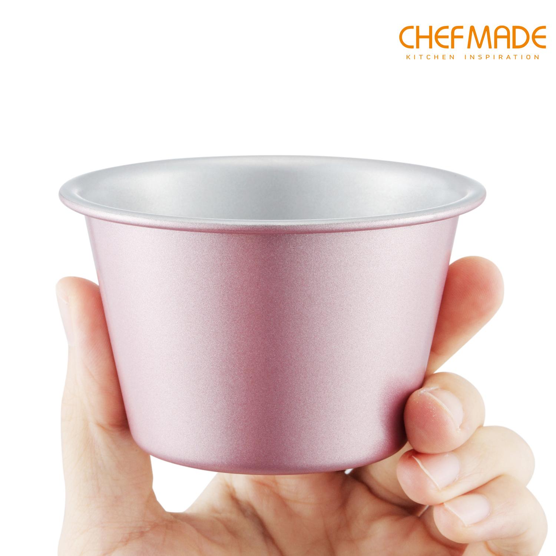 Khuôn nướng bánh pudding không dính CHEFMADE có các khuôn WK9415WK9417WK9418
