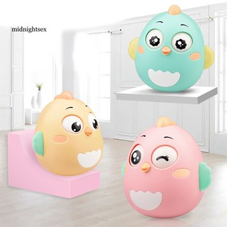MID®Lovely Chick Doll Tumbler Rattle Early Educational Toy Baby Gift