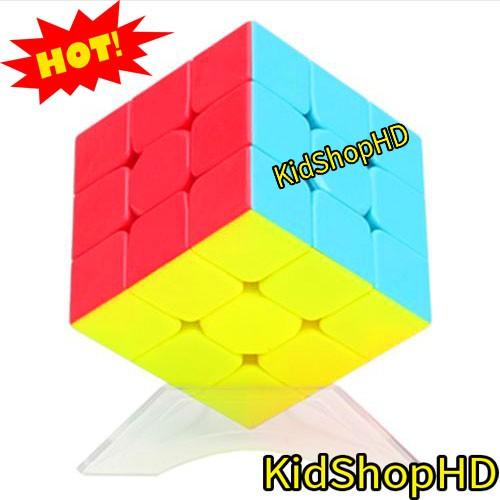 Rubik 3x3x3 đẹp, xoay trơn (Dùng trong thi đấu). Rubik Rubik Yuxin White Kylin Stickerless 3x3