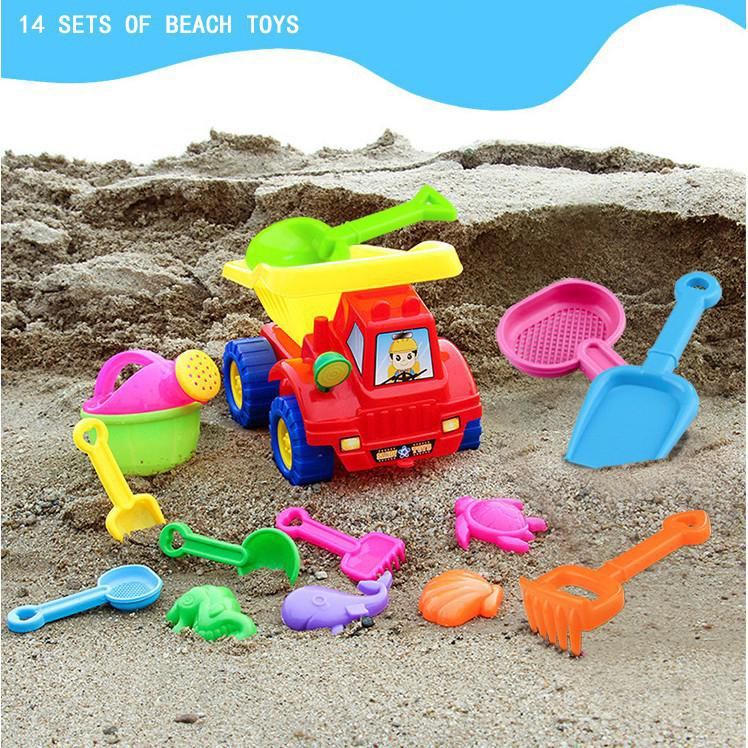Bộ đồ chơi cát cho bé
