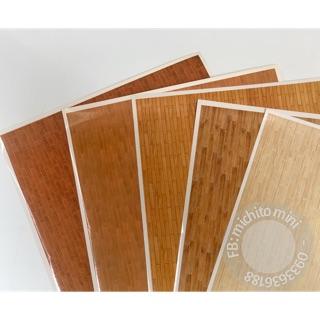 Decal dán sàn nhà mô hình – Giấy dán sàn cho nhà búp bê khổ a3