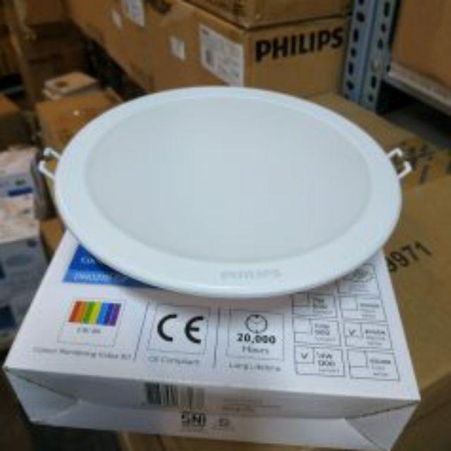 Đèn led âm trần DN027B LED 20 ( 22W-23W) D200 PHILIP