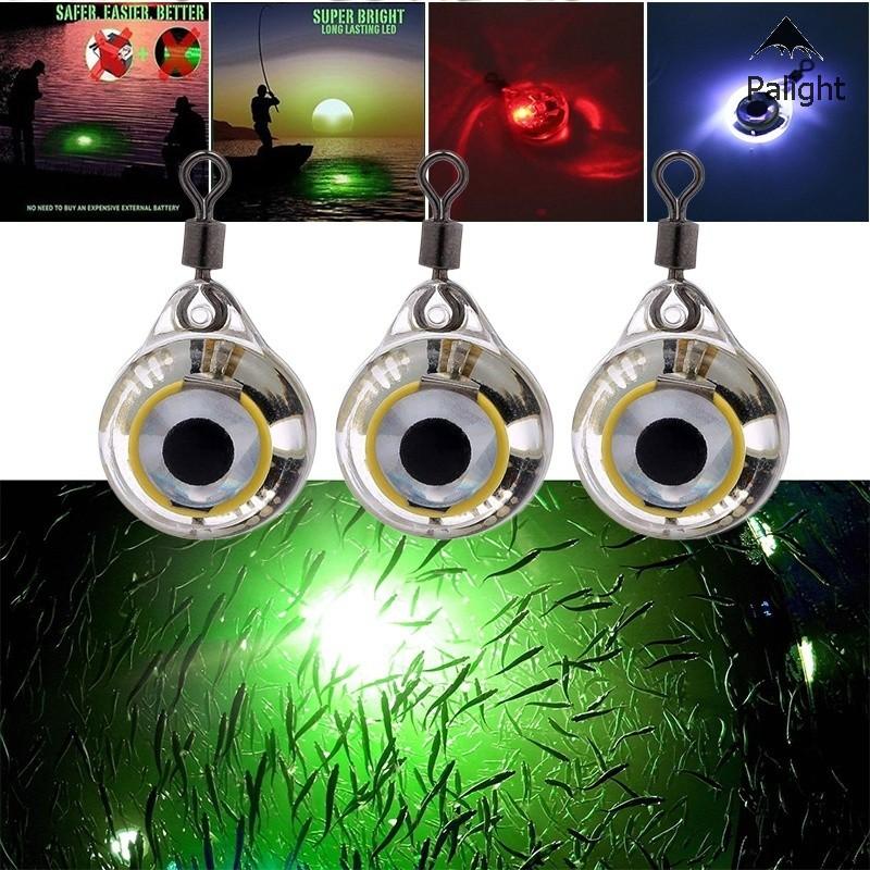 Mồi giả nhử cá gắn kèm đèn LED phát sáng dùng để câu cá đa năng tiện dụng