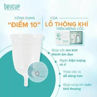 [CHÍNH HÃNG] Cốc nguyệt san Beucup