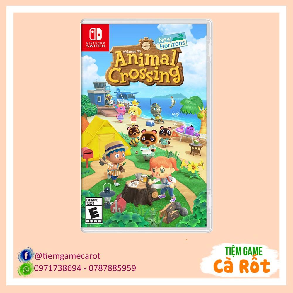 Animal Crossing: New Horizons - Băng game cho máy Nintendo Switch