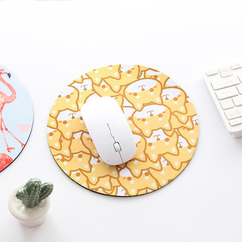 Creative Planet Mouse Pad Thicken Anti-slip Round Laptop Mat YT1488 Giá chỉ 35.271₫