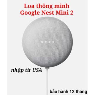 Loa thông minh không dây Google Nest Mini 2