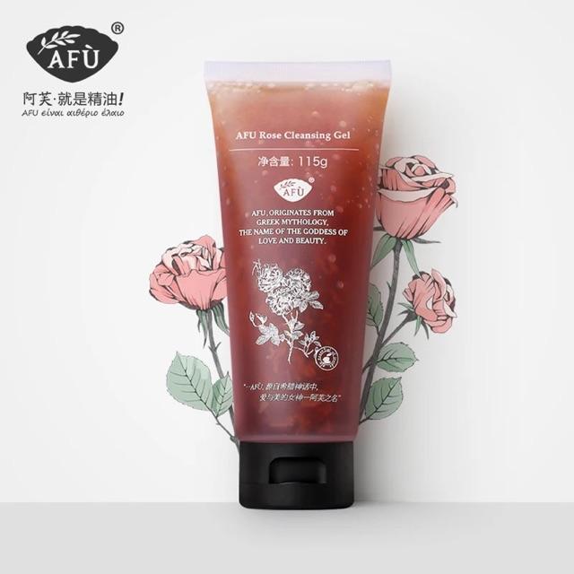 AFU - Gel rửa mặt hoa hồng