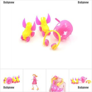 Babynew 1/12 Scale Dollhouse Miniature Accessories Headset Skating Shoes Helmet Kit