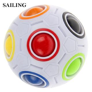 Kids Toy Spherical Ball ABS Rainbow Ball Puzzle Kids Educational Toy Latest
