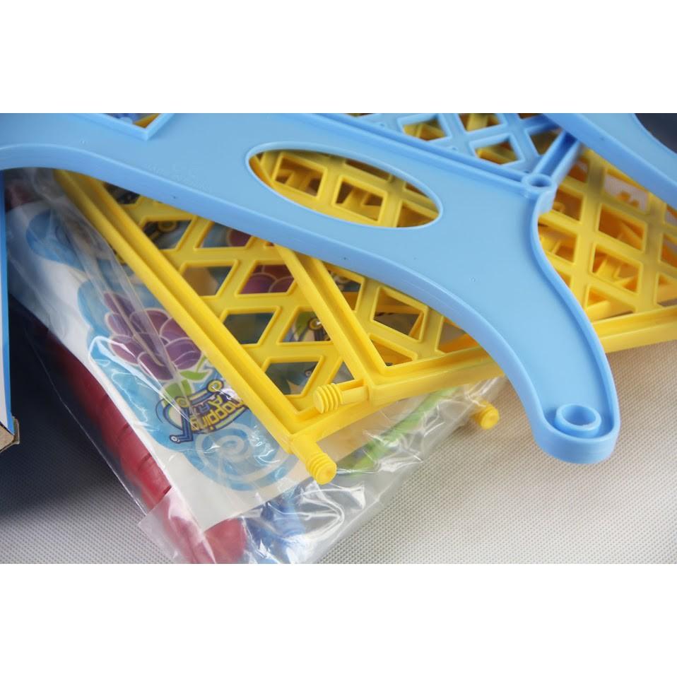 [Hot Deal]Mô hình đồ chơi xe đẩy siêu thị đáng yêu đầy màu sắc NB111111