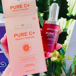 Serum Pure C+ Mediskinbyc trắng da mờ thâm mụn date mới mẫu mới thumbnail