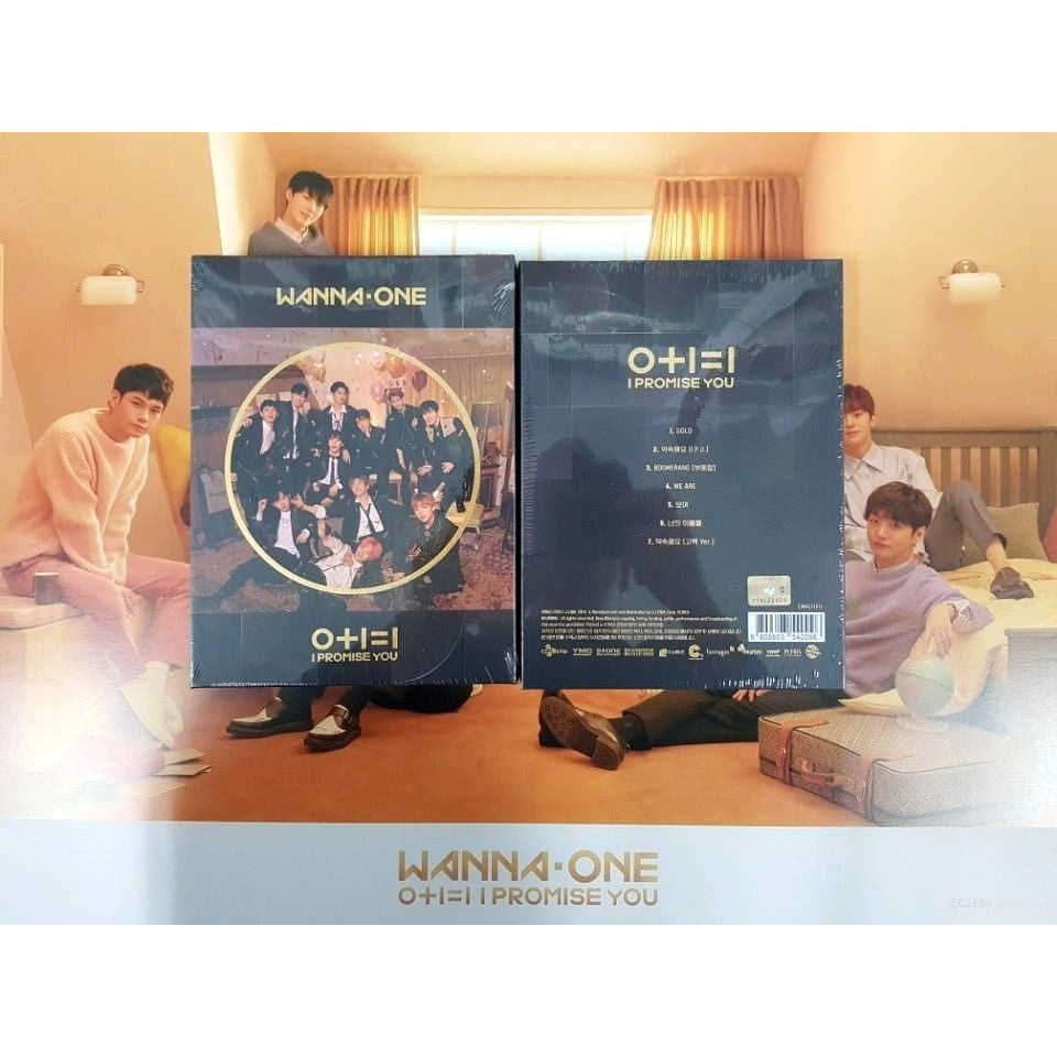 [OFFICIAL] Album Wanna One I Promise You ( Day Ver & Night Ver)