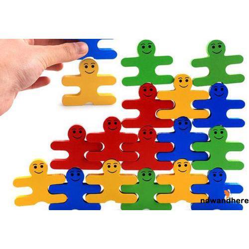 .NN-Wooden Toys Blocks Balance Game Building Block Early Educational Kid/Adult