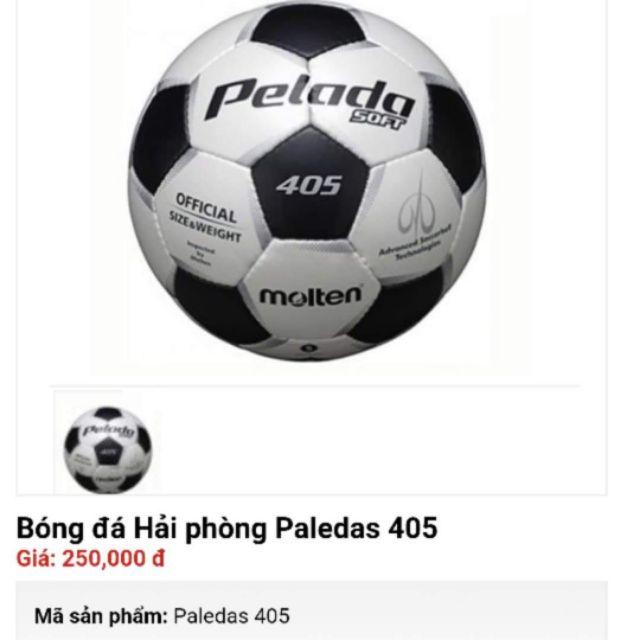 Bóng đá Paledas 405.Tặng kèm lưới đựng bóng và kim bơm