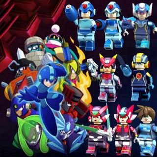 Compatible With Lego Minifigures Game Megaman Rockman Mega Man Building Blocks Baby Toys For Children Birthday Gift