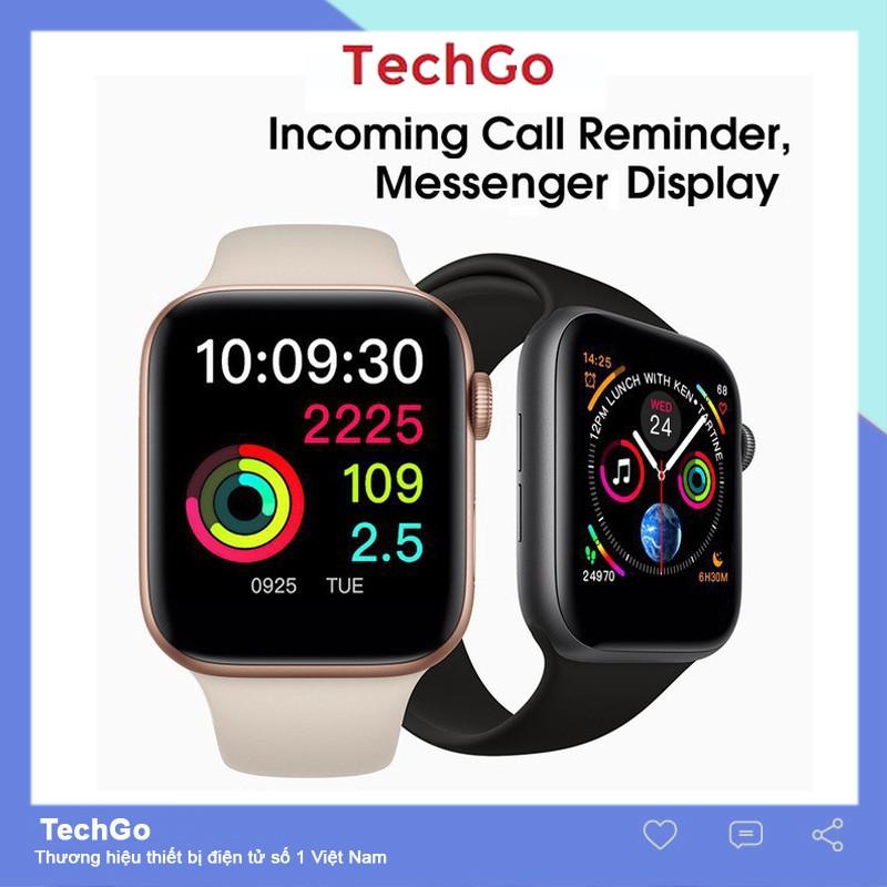 Đồng hồ thông minh W54 kết nối Bluetooth có chức năng sạc không dây cho Android/IOS