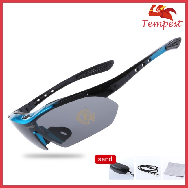 Outdoor Cycling Googles Windproof Dustproof Polarized Sunglasses