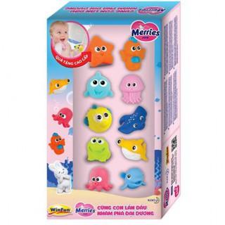 Hộp đồ chơi trẻ em tắm sinh vật biển 10 con hiệu Winfun - Quà tặng khuyến mại thumbnail
