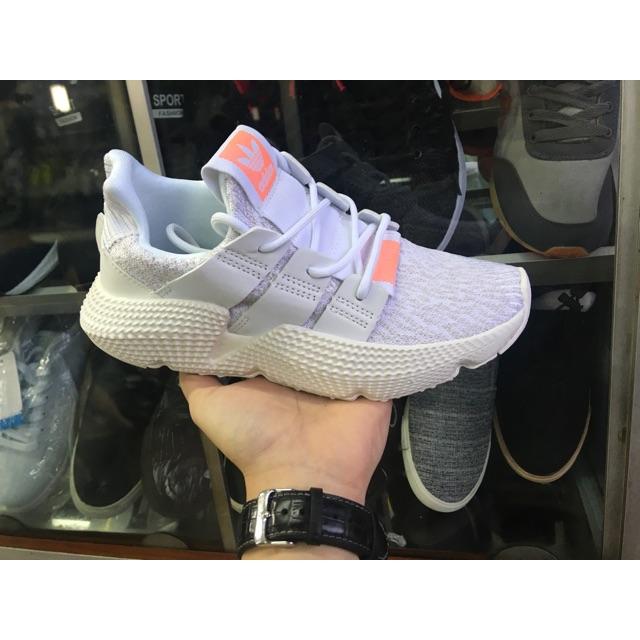 (Ảnh thật) giày thể thao prophere trắng cam