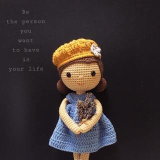 Bup bê HandMade – bup bê bằng len – đồ chơi – đồ chơi bằng len – gối ôm bằng len cho bé – bup bê bằng len loại to 60 cm