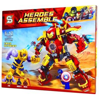 Bộ Lego Xếp Hình Ninjago Siêu Robot Chiến Đấu. Gồm 371 chi tiết. Lego Ninjago Lắp Ráp Đồ Chơi Cho Bé