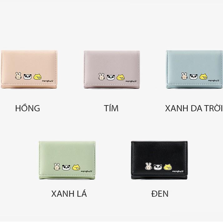 Ví Bóp Nữ Mini Cầm Tay Chính Hãng TAOMICMIC Hình Ngộ Nghĩnh Phong Cách Hàn Quốc Siêu Đẹp TM09 - Mozuno
