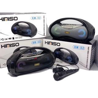 Loa Sách Tay KiMiSo KM-S2 Kết Nối Bluetooth Có Đèn Led Kèm Micro Hát Karaoke