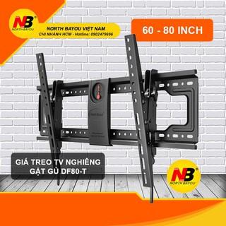 Giá treo Tivi nghiêng NB DF80-T (65-85) inch – giá treo tivi gắn tường cố định thông minh nhập khẩu