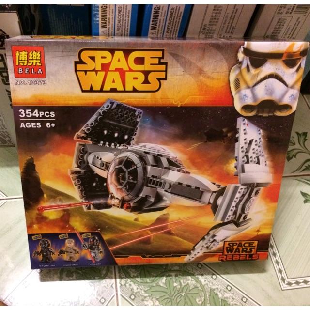 |Đồ Chơi Trẻ Em| Mẫu Xếp Hình Bela 10373 SpaceWars (354 mảnh)