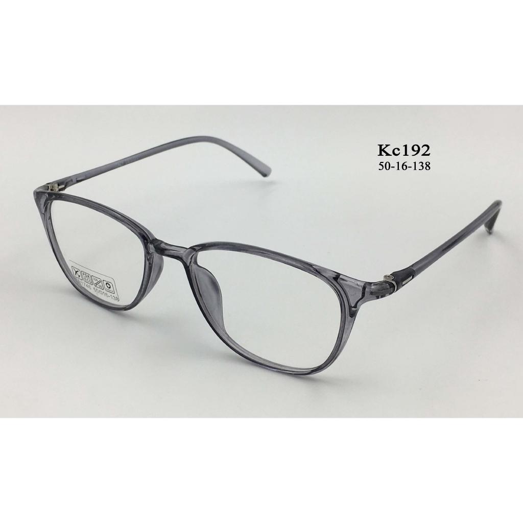 [Ảnh thật] Gọng kính cận dẻo Hàn quốc KC192- Có thể thay tròng làm kính cận, viễn,…