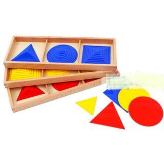 Giáo cụ Montessori các hình đồng dạng