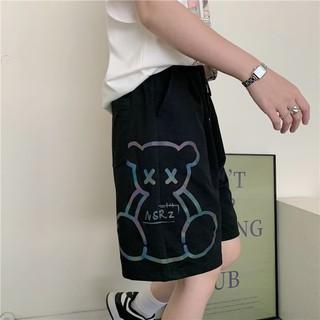 Quần đùi gấu chất dầy may kỹ, quần short đùi dài gần tới gấu, UNISEX nam nữ mặc được VIDEO ẢNH THẬT CUỐI thumbnail